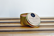 Maple Bacon Scented Gold Tin Soy Candle Castle View Candles
