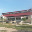 Bon Samaritan Episcopal Church in Bondeau, Haiti, receives the final construction touches before the dedication