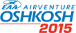 EAA AirVenture Oshkosh 2015 logo (editorial use only)