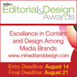Min's Editorial & Design Awards Now Accepting Entries
