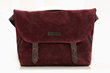 Vitesse Messenger bag—burgundy waxed canvas