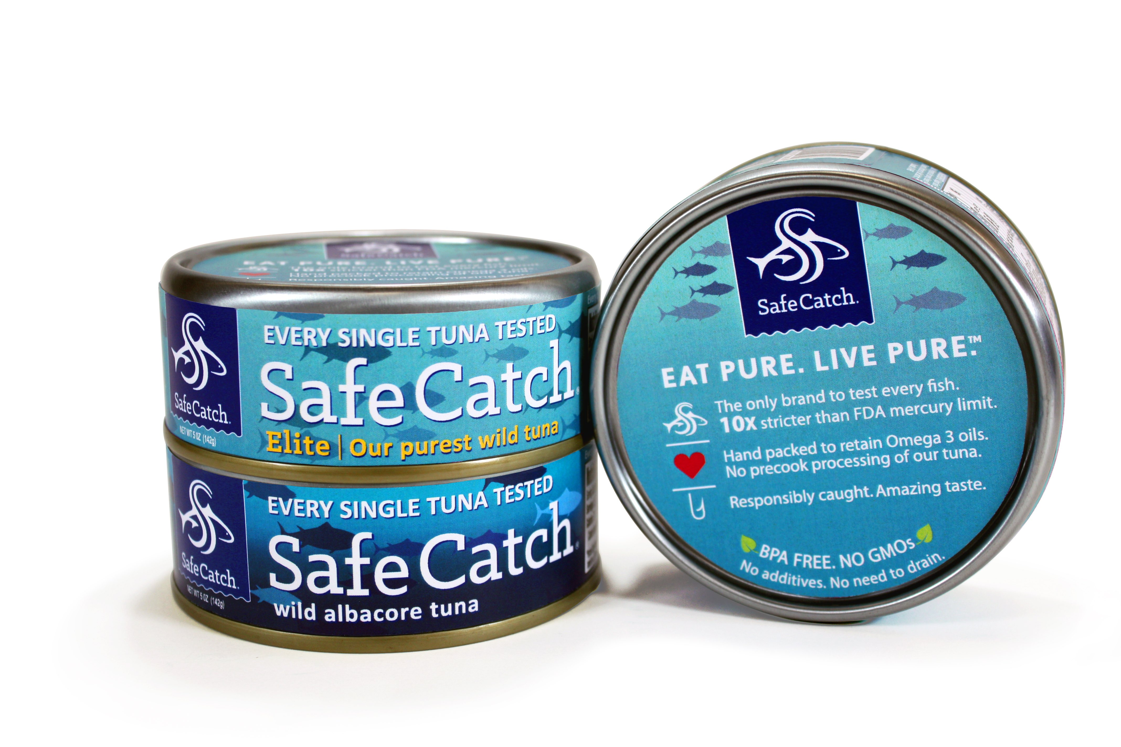 Safe catch launches tuna with lowest mercury limit of any for Tuna fish brands