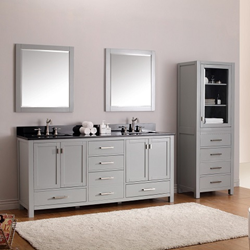 "Moderno 72"" Double Bathroom Vanity MODERO-V72-CG from Avanity"