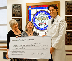 Bedell Frazier Investment Counselling Presents Donation to UCSF