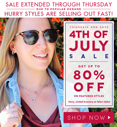 Cate & Chloe 4th of July Fireworks sale extended.