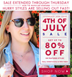 The Cate & Chloe Stars and Stripes Sale is still Booming