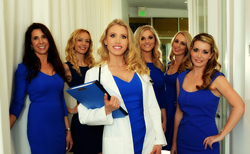 Dr. Karron Power with the PowerMD team of highly qualified and trained clinicians and support staff.