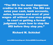 IRS Whistleblower - New Second Edition by Richard M. Schickel, a 33 Year IRS Veteran Share the Secrets of How to Stop the IRS - Before They Stop You
