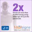 New CDC Vital Signs Report: Heroin Epidemic