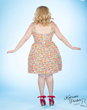 katrina parker,plus size dresses,plus size vintage dresses,vintage dresses,retro plus-size dresses,gummy worm dress