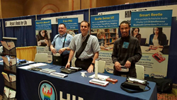 The HIMS Inc. Team Hosting Demos at a Recent Convention