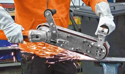 Slugger by FEIN GHB Series Hand Held Belt Grinder