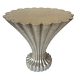 Scalloped End Table by Alden Parkes