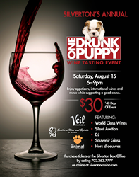 One Drunk Puppy Wine Tasting Event at Silverton Casino Hotel