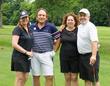L to R: Michele Fraser Geller; Terry Geller, DDS; Lynn Berger; Gregg Berger