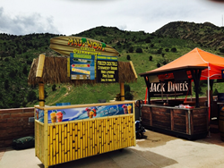 Maui Wowi's newest location at Red Rocks Amphitheatre in Denver, Colorado.
