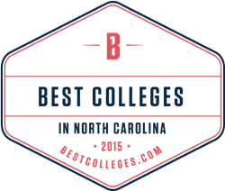 best colleges in north carolina seal