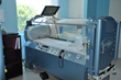 One of the hyperbaric chambers at the Valley Presbyterian Hospital Wound & Hyperbaric Center