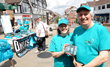 Scientologists set up a drug prevention stall on the High Street in Crowborough.