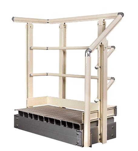 Hollaender's® Adjustable Handrail Fittings Chosen For