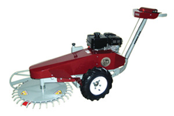Power Dog Revolving Deck Brush Mower
