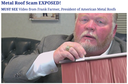 Metal Roof Scam Exposed in Frank Farmer's New Video