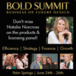 A Design Partnership's Founder Leads Licensing Panel for the BOLD Summit Luxury Interior Design Conference