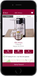 Winery Passport App - iPhone, iPod Touch & Android