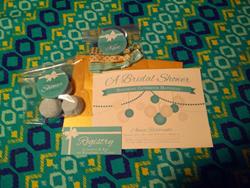 Custom Printed Bridal Shower Suite