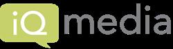 iQ media, media intelligence, iQ media logo
