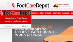 FootCareDepot.com Get-an-Email app_ShopSocially