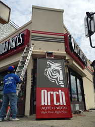 Arch Auto Parts 23402 Merrick Blvd, Queens rebrand