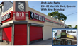 Arch Auto Parts 23402 Merrick Blvd, Queens before after rebrand