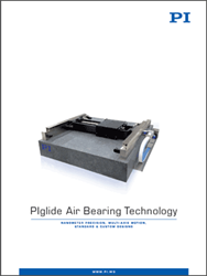 PI's New Air Bearing Technology Catalog