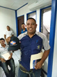 Attendees in Puerto Limon enjoying their Uniweld Gifts!