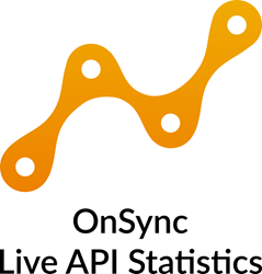 OnSync Live API Statistics for real-time information on large webinars