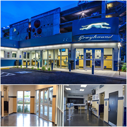 Modern Building Systems' Seattle Greyhound Bus Terminal is the July 2015 Modular Building of the Month.