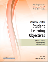 Marzano Center Student Learning Objectives