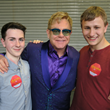 LGBT YouTube Stars Austin Wallis and Nicolay Sysyn Partner with Try The World, Appear at Pride Houston and Meet Music Icon And AIDS Activist Sir. Elton John