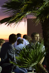 SPIE Optics + Photonics is returning to San Diego 9-13 August; above, the sun sets over a rooftop reception at a previous event.