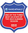 New Life Hiking Spa in Vermont is Named One of the Three Best U.S. Stays of the Summer Season by Rand McNally