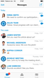 Messaging Inbox in Teamwire