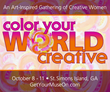 Get Your Muse On Launches Color Your World Creative Retreat Based on Compelling Research