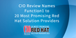 CIO Review Names Function1 to 20 Most Promising Red Hat Solution Providers 2015