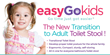 easyGopro - Go Time Just Got Easier Launches easyGoKids Transitional Toilet Stool for Adolescents