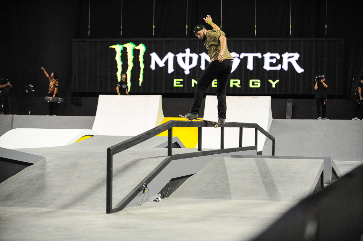 Monster Energys Nyjah Huston Wins Second Place At Stop