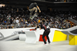 Monster Energy's Chris Cole at the Street League Skateboarding Nike SB World Tour 2015 Stop One in Los Angeles