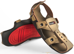 The Shoe That Grows is an innovative shoe that adjusts 5 sizes and lasts 5 years.