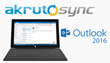 Akruto Now Syncs Microsoft Outlook 2016 with Phones