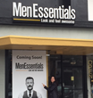 MENAJI COO Pamela Viglielmo outside MenEssentials retail store in Glendale, CA. MenEssentials carries MENAJI.